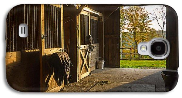 Horse Barn Sunset Galaxy S4 Case
