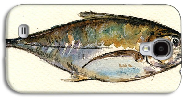 Horse Mackerel Galaxy S4 Case by Juan  Bosco
