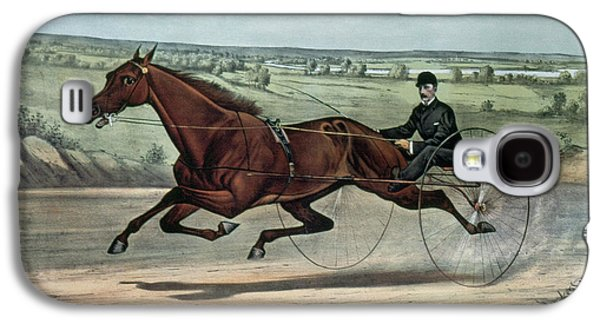 Horse Racing, 1880 Galaxy S4 Case by Granger