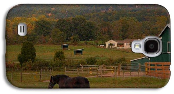 Horseback Riding In Gatlinburg Galaxy S4 Case by Dan Sproul