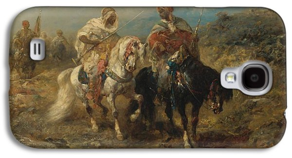 Horsemen At A Watering Hole Galaxy S4 Case by Celestial Images