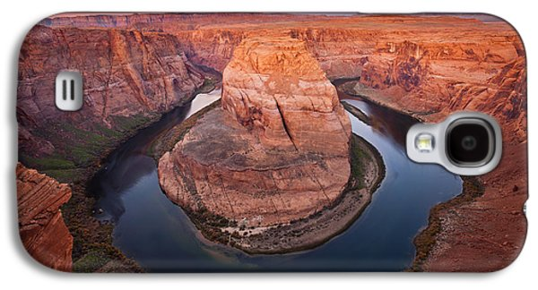 Desert Galaxy S4 Case - Horseshoe Dawn by Mike  Dawson