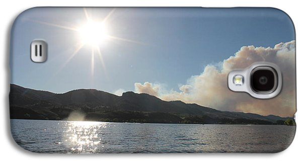 Horsetooth Wildfire Galaxy S4 Case by Holly OBriant