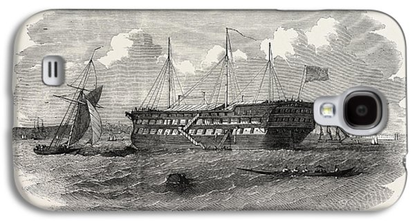 Hospital Ship Near The Seraglio At Constantinople Istanbul Galaxy S4 Case by English School