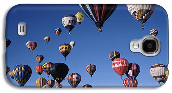 Hot Air Balloons Floating In Sky Galaxy S4 Case by Panoramic Images