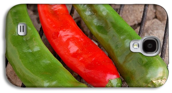 Hot And Spicy - Chiles On The Grill Galaxy S4 Case