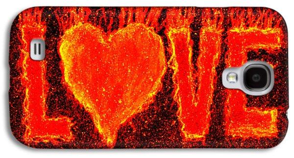 Hot Love  Galaxy S4 Case by Bill Holkham