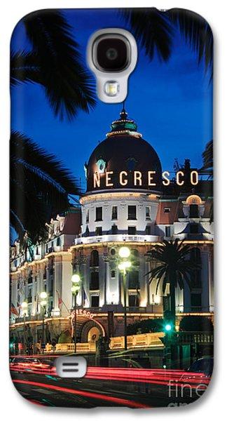 Hotel Negresco Galaxy S4 Case by Inge Johnsson