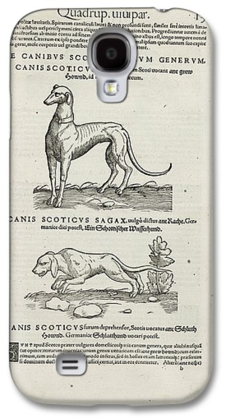 Hounds Galaxy S4 Case by British Library