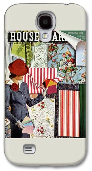 House & Garden Cover Illustration Of A Woman Galaxy S4 Case
