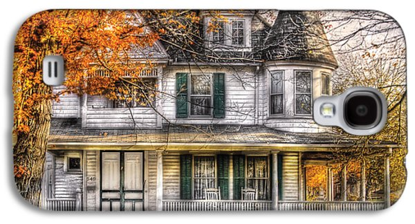 House - Classic Victorian Galaxy S4 Case by Mike Savad