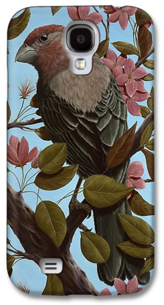 House Finch Galaxy S4 Case by Rick Bainbridge