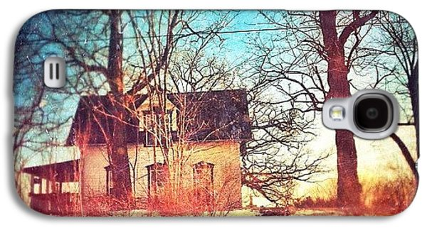 House Galaxy S4 Case - #house #home #old #farm #abandoned by Jill Battaglia