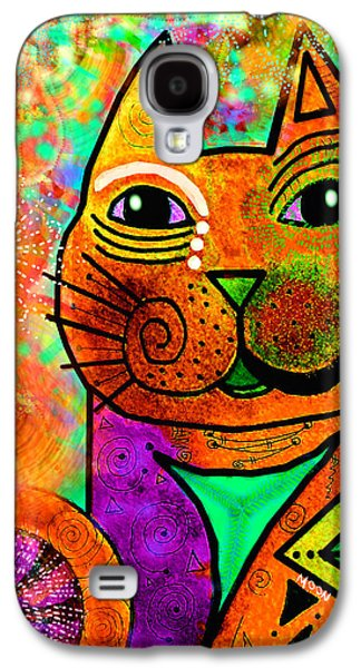 House Of Cats Series - Blinks Galaxy S4 Case by Moon Stumpp