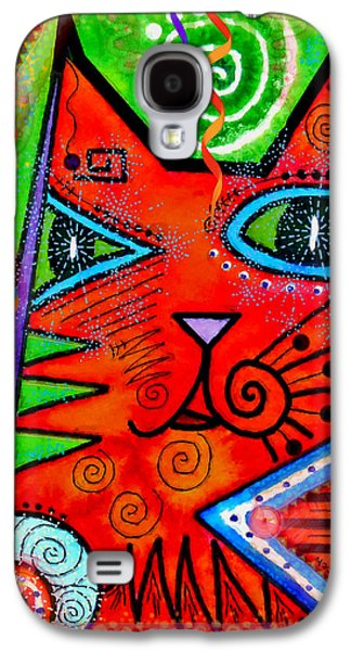 House Of Cats Series - Bops Galaxy S4 Case by Moon Stumpp