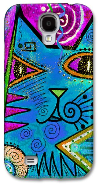 House Of Cats Series - Dots Galaxy S4 Case by Moon Stumpp