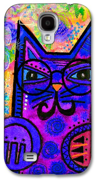 House Of Cats Series - Paws Galaxy S4 Case by Moon Stumpp
