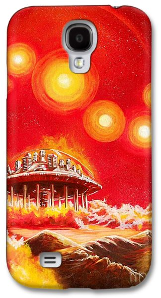 House Of The Rising Suns Galaxy S4 Case by Murphy Elliott