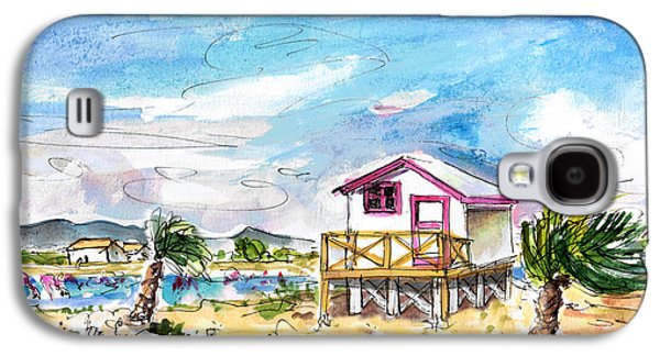 House On Stilts By Gruissan Galaxy S4 Case by Miki De Goodaboom