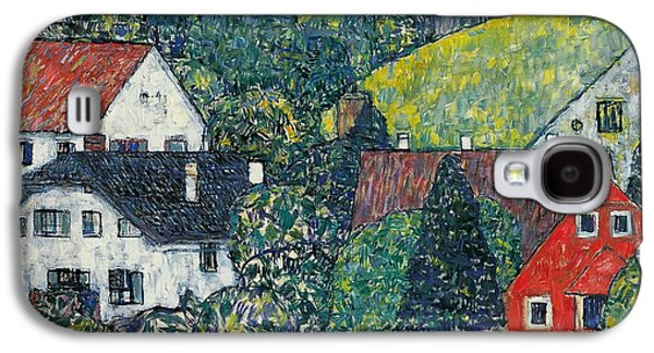 Town Galaxy S4 Case - Houses At Unterach On The Attersee by Gustav Klimt