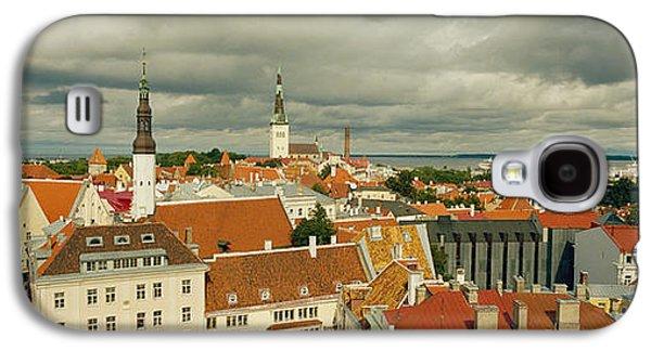 Houses In A Town, Tallinn, Estonia Galaxy S4 Case