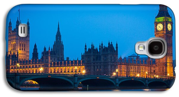 Houses Of Parliament Galaxy S4 Case by Inge Johnsson