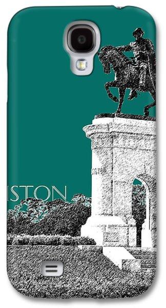 Houston Sam Houston Monument - Sea Green Galaxy S4 Case