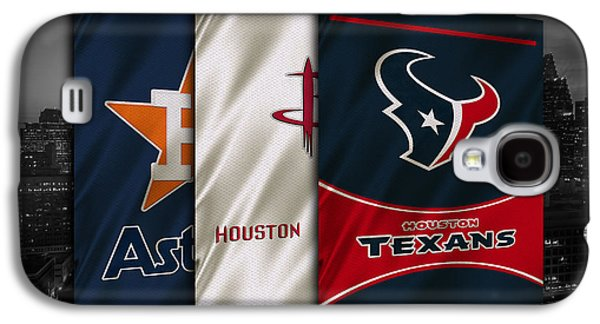 Houston Sports Teams Galaxy S4 Case
