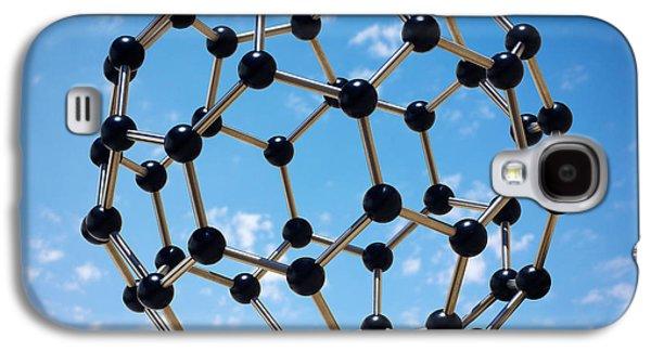 Hovering Molecule Galaxy S4 Case