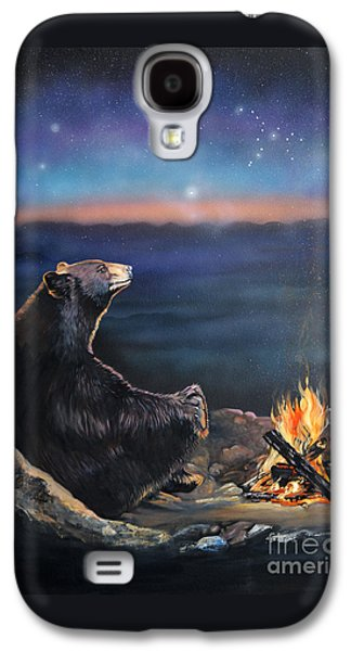 How Grandfather Bear Created The Stars Galaxy S4 Case