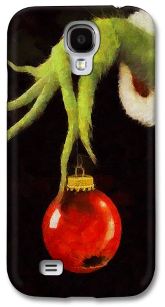 How The Grinch Stole Christmas Galaxy S4 Case