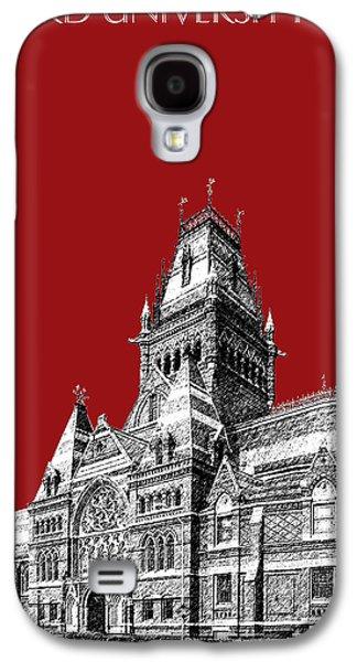 Harvard University - Memorial Hall - Dark Red Galaxy S4 Case