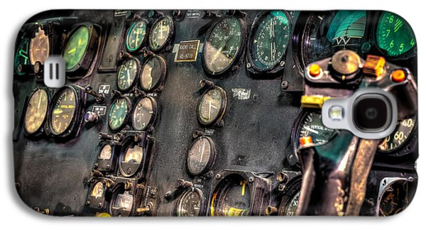 Helicopter Galaxy S4 Case - Huey Instrument Panel by David Morefield