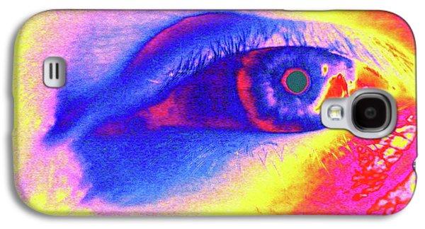 Human Eye Galaxy S4 Case by Larry Berman