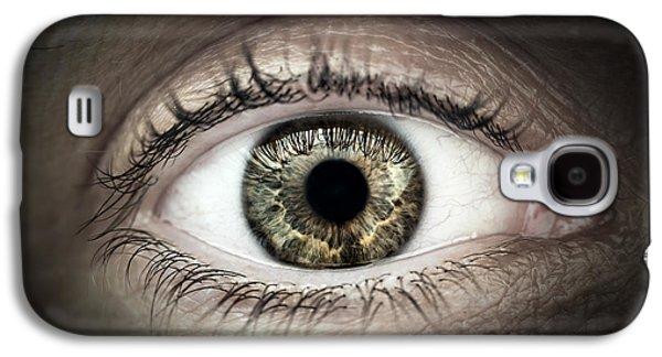Human Eye Macro Galaxy S4 Case
