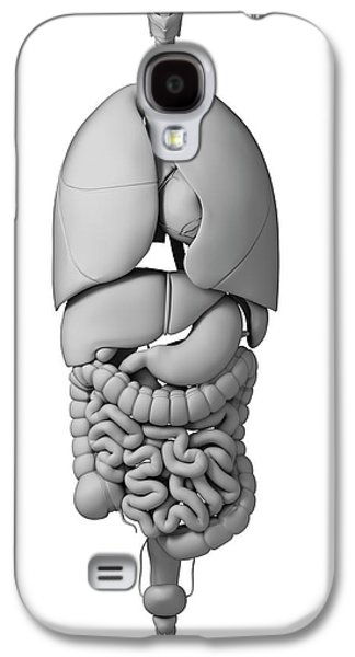 Human Internal Organs Galaxy S4 Case