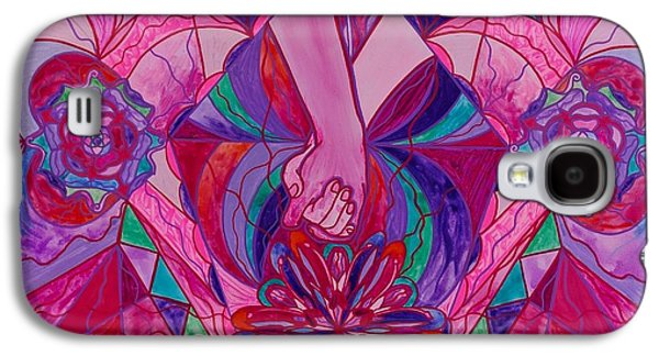Swan Galaxy S4 Case - Human Intimacy by Teal Swan