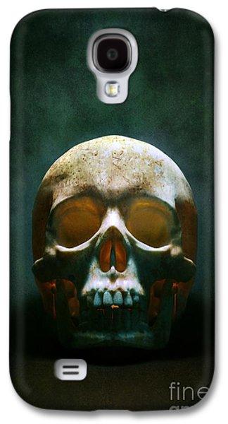 Human Skull Galaxy S4 Case by Carlos Caetano
