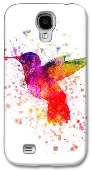 Hummingbird In Color Galaxy S4 Case by Aged Pixel