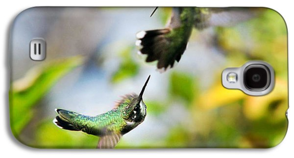 Hummingbirds Ensuing Battle Galaxy S4 Case by Christina Rollo