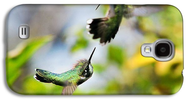 Hummingbirds Ensuing Battle Galaxy S4 Case by Christina Rollo