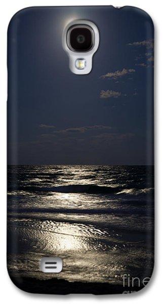 Sea Moon Full Moon Galaxy S4 Cases - Hunters Moon IV Galaxy S4 Case by Michelle Wiarda