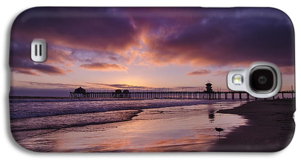 Sandpiper Galaxy S4 Case - Huntington Beach California by Sean Foster