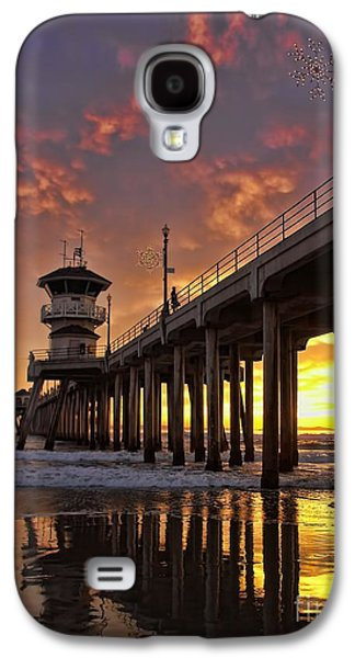Huntington Beach Pier Galaxy S4 Case