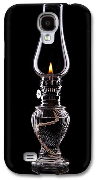 Hurricane Lamp Still Life Galaxy S4 Case by Tom Mc Nemar