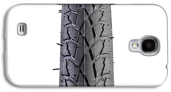 Hybrid Bike Tyre Galaxy S4 Case by Science Photo Library