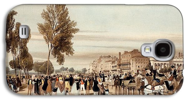 Hyde Park, Towards The Grosvenor Gate Galaxy S4 Case by Thomas Shotter Boys