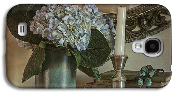 Hydrangea Still-life Galaxy S4 Case by Terry Rowe