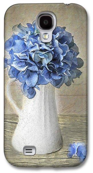 Hydrangeas In Vase Galaxy S4 Case