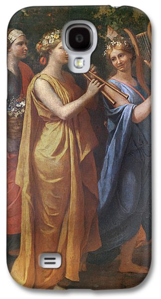 Hymenaios Disguised As A Woman During An Offering To Priapus, Detail Of The Musicians, C.1634-38 Galaxy S4 Case